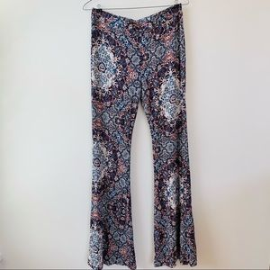 American Eagle Outfitters Fitted Flare Pants